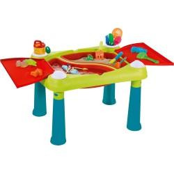 Bērnu rotaļu galdiņš Creative Fun Table tirkīza/sarkans