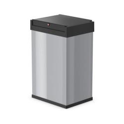 Atkritumu tvertne Big-Box Swing L / 35L / sudraba krāsā / akc