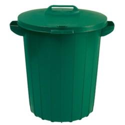 Atkritumu tvertne 90L zaļa