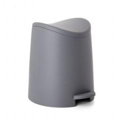 Vannas istabas pedāļspainis 3L Standard pelēks
