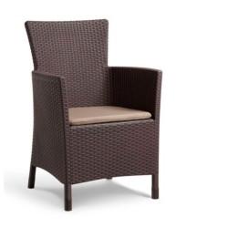Dārza krēsls Iowa brūns