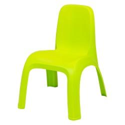 Bērnu krēsliņš Kids Table zaļš