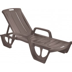 Sauļošanās krēsls Florida bēšs