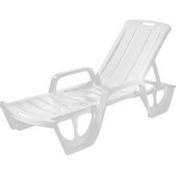 Sauļošanās krēsls Florida balts
