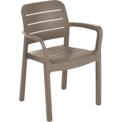 Dārza krēsls Tisara bēšs