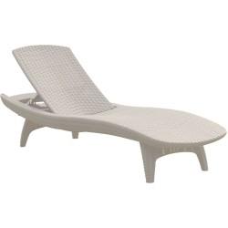 Sauļošanās krēsls PACIFIC balts