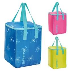 Termiskā soma Easy Style Vertical asorti, dzeltena/zila/rozā