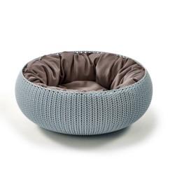 Guļvieta mājdzīvniekiem Knit 54x54x20,2 zila
