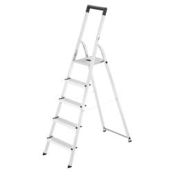 Kāpnes mājsaimniecības Selekta L40 BasicLine / alumīnija / 5 pakāpieni