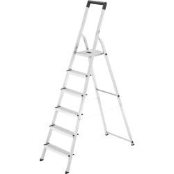 Kāpnes mājsaimniecības Selekta L40 BasicLine / alumīnija / 6 pakāpieni