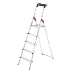 Kāpnes mājsaimniecības L60 StandardLine / alumīnija / 5 pakāpieni