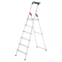 Kāpnes mājsaimniecības L60 StandardLine / alumīnija / 6 pakāpieni