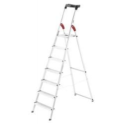 Kāpnes mājsaimniecības L60 StandardLine / alumīnija / 7 pakāpieni