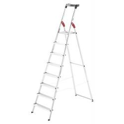 Kāpnes mājsaimniecības L60 StandardLine / alumīnija / 8 pakāpieni