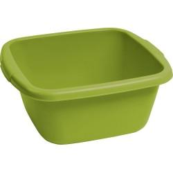 Bļoda kvadrāts 10L zaļa