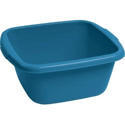Bļoda kvadrāts 10L zila