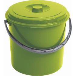 Spainis ar vāku 16L zaļš