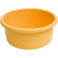 Bļoda apaļa 4L dzeltena