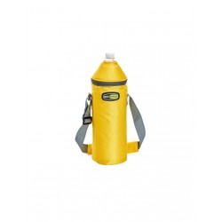 Termiskā soma pudelei Vela+ asorti, gaiši zila/dzeltena/oranža
