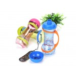 Pudele Dumbbell 560ml zila