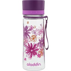 Pudele Aveo Water Bottle 0,35L violeta (grafika)