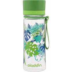 Pudele Aveo Water Bottle 0,35L zaļa (grafika)