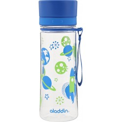 Pudele Aveo Water Bottle 0,35L zila (grafika)
