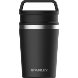 Termokrūze Adventure The Shortstack Travel Mug 0,23L matēti melna