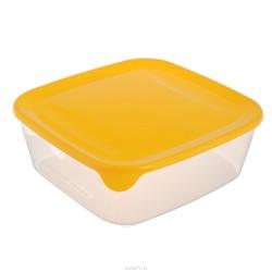 Pārtikas trauciņš kvadrāts 1,7L Fresh&Go dzeltens